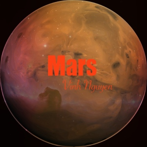 Mars Music Cover Art by Vinh Nguyen